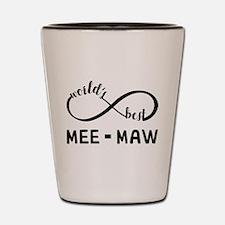 World's Best Meemaw Shot Glass