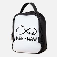 World's Best Meemaw Neoprene Lunch Bag