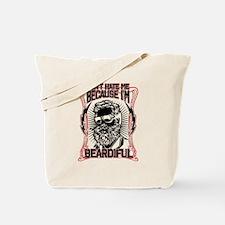 Unique Beard Tote Bag