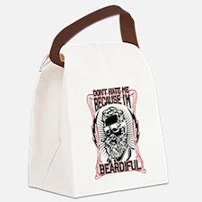 Unique Beard Canvas Lunch Bag