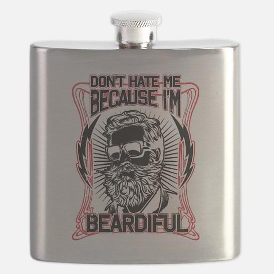Cute Beard Flask