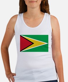 Guyana Flag Tank Top
