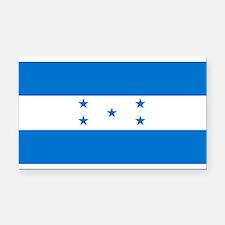 Honduras Flag Rectangle Car Magnet