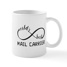 Infinity Gift For Mail Carrier Mug