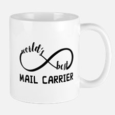 Infinity Gift For Mail Carrier Mug