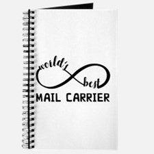 Infinity Gift For Mail Carrier Journal