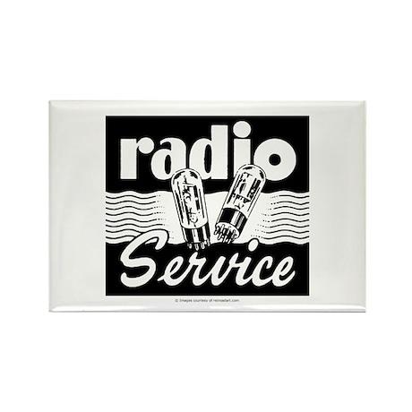 Radio Service Rectangle Magnet