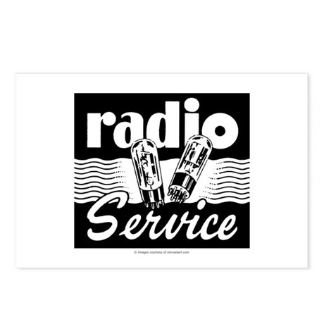 Radio Service Postcards (Package of 8)