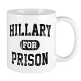 Anti hillary clinton cups Small Mugs (11 oz)