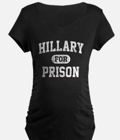 Vintage Hillary For Prison Maternity T-Shirt