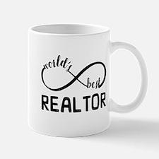 Infinity Gift For World's Best Realtor Mug