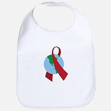 World AIDS Ribbon Bib