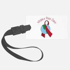 World AIDS Day Luggage Tag