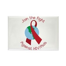 Fight Against HIV/AIDs Magnets