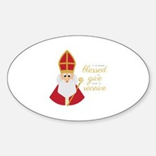 Blessed To Give Decal