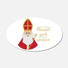 Blessed To Give Wall Decal
