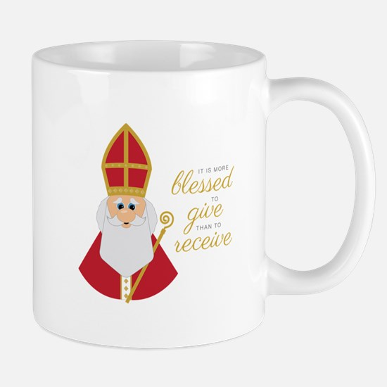 Blessed To Give Mugs