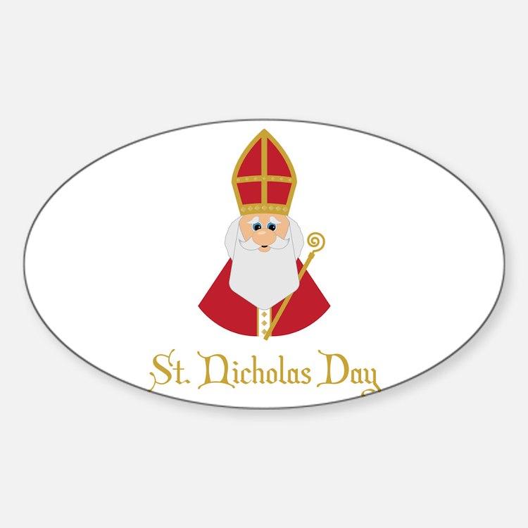 St Nicholas Day Decal