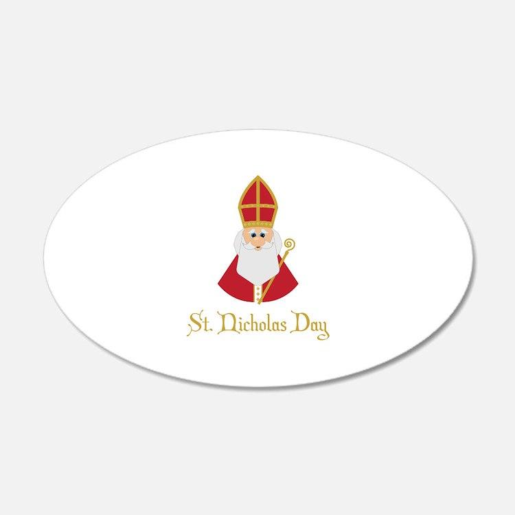 St Nicholas Day Wall Decal