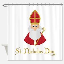 St Nicholas Day Shower Curtain