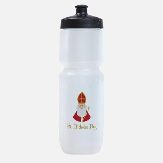 St Nicholas Day Sports Bottle