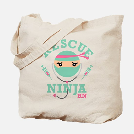 Rescue Ninja RN Tote Bag