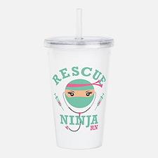 Rescue Ninja RN Acrylic Double-wall Tumbler