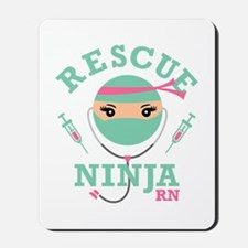 Rescue Ninja RN Mousepad