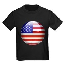 USA Flag Jewel T