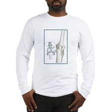 KneeFinalArt Long Sleeve T-Shirt
