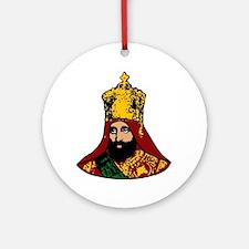 Selassie 1 Round Ornament