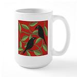 Two Crows Large Mug