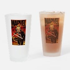 Ghost Rider Marvel Drinking Glass