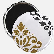 Scroll Damask Art I GGW Magnets