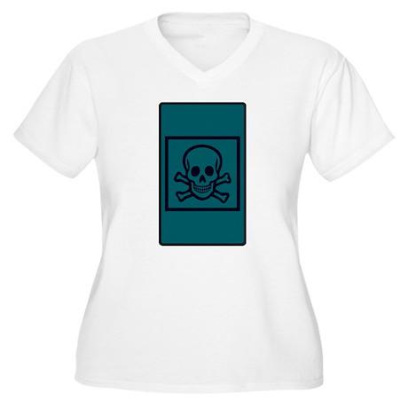 Death Tarot Women's Plus Size V-Neck T-Shirt