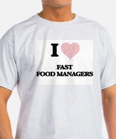Mcdonalds manager t shirts cafepress for Get shirts made fast