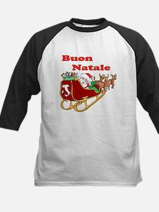 Buon Natale Kids Baseball Jersey