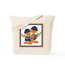 Trick Or Treat Ducks Tote Bag