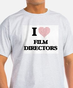 I love Film Directors (Heart made from wor T-Shirt