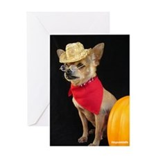 Unique Chihuahua birthday Greeting Card