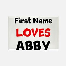 Loves Abby Magnets