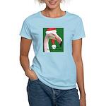 Flamingo Santa Claus Women's Light T-Shirt