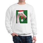 Flamingo Santa Claus Sweatshirt