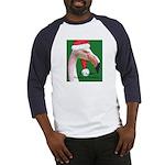 Flamingo Santa Claus Baseball Jersey