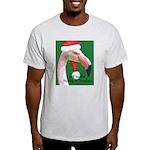 Flamingo Santa Claus Light T-Shirt