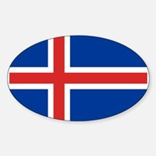 Iceland Flag Decal
