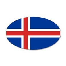 Iceland Flag Wall Decal