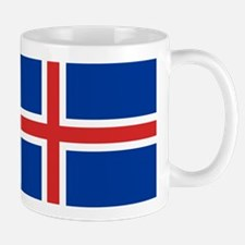 Iceland Flag Mugs