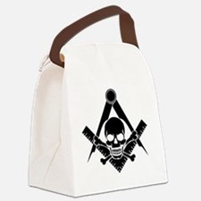 Unique Masonic Canvas Lunch Bag