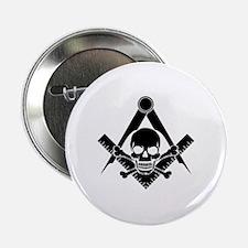 """Unique Masonic 2.25"""" Button"""